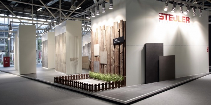 Steuler Tile Group at Cersaie 2015