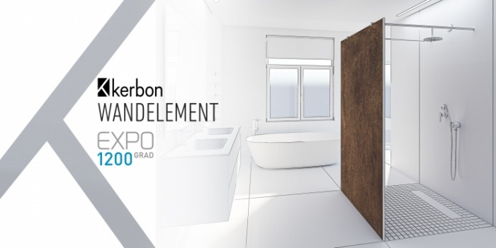 Presentation of the Kerbon wall element at the virtual fair Expo1200 Grad